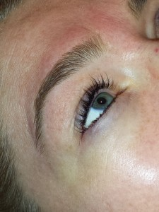 Lash and Brow Tint with Brow Wax